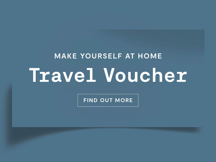 Make Yourself At Home Travel Voucher
